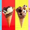 クッキーやスイーツをあふれんばかりにトッピング♪ デカ盛りアイスクリーム『フリークコーン』クッキータイム®原宿に登場!