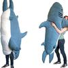 でかくてリアルなサメにがっつり食べられちゃう!SNSでも話題沸騰中!! 大人気『サメの寝袋』もちふわバージョンがヴィレヴァン限定で登場☆