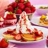 苺&チョコの絶品クリームタワーパンケーキも♪ イケアストアにて『ストロベリー&チョコレートフェア』開催!!