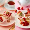 Afternoon Tea×ポッキーのコラボスイーツが誕生♡『Pocky午後の贅沢 苺とポッキーのショートケーキ』期間限定で発売