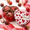 """キュートなハート缶に""""チョコ×イチゴ""""をイン♪ 『オリジナルハート缶 バレンタインMIX』期間・数量限定でギャレット ポップコーン ショップス®にて発売!"""