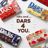 niko and ... × DARSがコラボしたレトロ可愛いデザイン♪『DARS 4 YOU』コラボアイテム販売スタート!