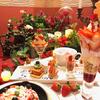 苺や薔薇の花を飾り付けた華やかスイーツがズラリ♡『美女と野獣のストロベリーコレクション2019』期間限定で開催!