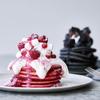 """キュートorクールあなたはどっち?タイプや気分によって""""選べる""""『ピンクベリー/ ブラックベリー パンケーキ』がJ.S. PANCAKE CAFEより冬限定で登場!"""