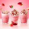 ストロベリーに恋する甘酸っぱい味わい♡ マックカフェ『ホワイトチョコストロベリースムージー』登場!