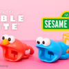 エルモやクッキーモンスターがビッグなお口でプラグをガブリ♪ 『CABLE BITE BIG セサミストリート』発売!