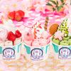 イチゴに桜、抹茶で春らしさ満開♡『さくらストロベリーフェア』ロールアイスクリームファクトリー全店で開催!!