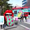"""""""Lip & Tongue""""の特大オブジェも出現!!☆ 「Happy Socks x The Rolling Stones」コレクション発売記念<ロンドンバス ポップアップストア>渋谷に3/16(土)~17(日)限定でOPEN☆"""