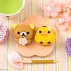 桜を抱えたリラックマがキュート♡ 春らしい黒みつ&さくら味の『食べマス リラックマ 桜リラックマ』ローソン限定で登場!