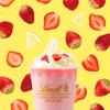 甘酸っぱいストロベリー&爽やかなレモンの香り♡『リンツ ホワイトチョコレート ストロベリー アイスドリンク』期間限定で発売!!