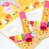 あの「クレパス」が今度はリップティントに♡ 唇の水分量に応じて色合いが変わる『クレパス柄リップティント』新発売