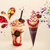 マンゴー×ラズベリー×ホワイトチョコレートの素敵な出会い♪ ゴディバから「カーニバル」がテーマのショコリキサー&ソフトクリームが登場!!