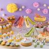 """カラフルなハイヒールチョコレートに、""""令和カラー""""のケーキも♡『スイス チョコホリック パステルブッフェ』土日限定で開催!!"""