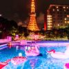 アイスクリームにシェル、巨大な「王冠フロート」も☆ インスタ映えから動画映えへ進化した『CanCamナイトプール』東京プリンスホテルにOPEN!