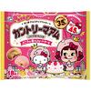 ペコちゃん&キティがピンクのコスチュームをかぶった仲良しデザイン♡『カントリーマアム×ハローキティ(バニラ&苺のショートケーキ)』新発売