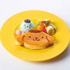 『ぼのぼの×ポムポムプリン』初のコラボメニューが「ポムポムプリンカフェ」原宿・梅田・横浜に登場!お揃いのベレー帽をかぶった仲良しデザイン♪