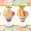 桃の魅力を引き立てる4つのミニパルフェも♡ 季節限定の『桃デザート』デニーズにて販売!!