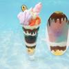 淡く優しいドリーミーなパステルカラーで人魚姫気分♡ Q-pot CAFE.に『ミントソーダラグーン』をテーマとした限定メニューが登場!