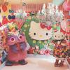キティちゃん好きにはたまらない♡ KAWAII MONSTER CAFEにハローキティとコラボした虹色メニューやグッズ、特別コラボルームが登場!<レポ>