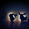 イーブイのしっぽやお耳のシルエットが可愛い♡ ヴィレヴァンオンラインに『WALL LIGHT イーブイ(おすわり)』が登場!