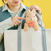 もふもふうさぎと楽しくお散歩♡『バッグからひょっこり もふもふうさぎポーチ』フェリシモYOU+MORE!にて発売中