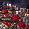 薔薇と鏡の迷宮で開かれる耽美でダークなお茶会♡ 新デザートフェア『アリスinローズ・ラビリンス』ヒルトン東京にて開催!
