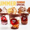 クッキータイム原宿にて夏限定メニューが発売中☆ 見た目も可愛い『フローズンミルクボトル』に、『クッキータイム サマーサンデースペシャル』も♪