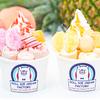 猛暑を乗り切れ!8月10日「白桃の日」、8月17日「パイナップルの日」にちなんだ限定メニューがロールアイスクリームファクトリーに登場♪