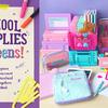 パステルカラーの文房具でハッピーな新学期を♪『SCHOOL SUPPLIES fot teens!(スクール サプライズ フォー ティーンズ)』PLAZAにて開催!