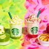 グリーンとピンクのりんごフラペチーノでカラフルな秋を味わう♪ スターバックス『Artful Autumn@ Starbucks® プロモーション』開催!