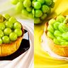 岡山県産のシャインマスカット「晴王(はれおう)」を贅沢に使用♡ PABLOから季節限定チーズタルト2種が発売!