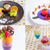チェシャ猫のナイトパフェに、真っ赤なりんごのティラミスも♡ アリスのファンタジーレストラン銀座、新宿、池袋にて『ハッピーハロウィンパーティ』開催!