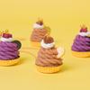 """""""和栗&紫芋""""のモンブランカップケーキで秋を美味しく彩る♡ Q-pot.から「和栗」と「紫芋」をモチーフにしたアクセサリーが新登場!"""