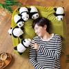 赤ちゃんパンダと一緒にゴロゴロ♪ パンダまみれの布団収納クッションソファがフェリシモYOU+MORE!に登場