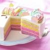 3色のカラフルクリームでユニコーンのたてがみを表現♡ コージーコーナーから『ゆめかわレインボーユニコーン』がインターネット通販限定で登場!