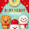 """スノーマンやトナカイがキュートな""""ベビー""""に♡ クリスピー・クリーム・ドーナツから『BABY MERRY Holiday』期間限定で発売!"""