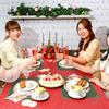 """夢のような店内で過ごす、""""おかし""""なクリスマスパーティー♡ Q-pot CAFE. 表参道本店に毎年人気のパーティープランが今年も登場♪"""
