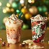 イルミネーションが輝くクリスマスツリーのよう♡『ナッティ ホワイト チョコレート フラペチーノ®』『ナッティ ホワイト モカ』スターバックスから発売!