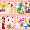 プーさんやダッキー&バニーが楽器を演奏♪「クリスマスコンサート」をイメージしたHappyくじ『Disneyクリスマスオーナメント 2019』がファミマ限定で登場!