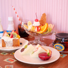 鮮やかなフルーツたっぷりのパフェやプリンアラモードも♡ フルーツサンド専門店『フツウニフルウツ』が大阪に初出店!