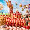 移動遊園地の世界観を国産いちごで表現♪『ストロベリー・カーニバル・スイーツビュッフェ』コンラッド東京にて開催!