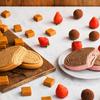 イチゴを使った贅沢なトリュフの味わいを表現♡ ハーゲンダッツクリスピーサンド『苺のトリュフ』期間限定で登場&『ザ・キャラメル』も同時発売
