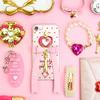 """キラキラハートとリボンが可愛い♡「Jewerylic mirror(ジュエリル ミラー)」から、""""魔法のステッキ""""デザインのiPhoneケースが発売!"""
