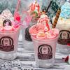 """サンタさんやトナカイが""""ふわふわ""""で""""もこもこ""""な煙に包まれる♡ 新感覚のクリスマス限定ロールアイス4種がROLL ICE CREAM FACTORYにて発売中!"""