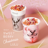 テーマは「恋するクリスマス」♡ THE ALLEYに可愛らしく美しい限定ドリンク『Sweet Berry Christmas シリーズ』が登場!