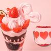 苺型ケーキに苺パフェも♡ Q-pot.からフレッシュ&フルーティーな苺尽くしのバレンタインメニューが期間限定で登場!