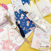 『カナヘイの小動物 ピスケ&うさぎ』のオリジナルアイテムがITS'DEMOから発売!バレンタインにピッタリの「チア柄」と、いちごやさくらんぼモチーフの「フルーツ柄」♪