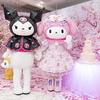 マイメロがリボンや桜のドレスに身を包む♡『My Melody 45th Anniversary Fair』ピューロランドにて開催中&新スポット「マイメロディガーデン」もオープン!