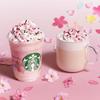 桜の花びらに見立てたあられをトッピング♡『さくら ミルクプリン フラペチーノ®』『さくら ミルク ラテ』スターバックスに期間限定で登場&ARで店内に桜が咲き誇る♪