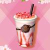 桜ゼリー&桜の花びらに見立てたピンクチョコチップをトッピング♡『ショコリキサー さくら』ゴディバから新発売